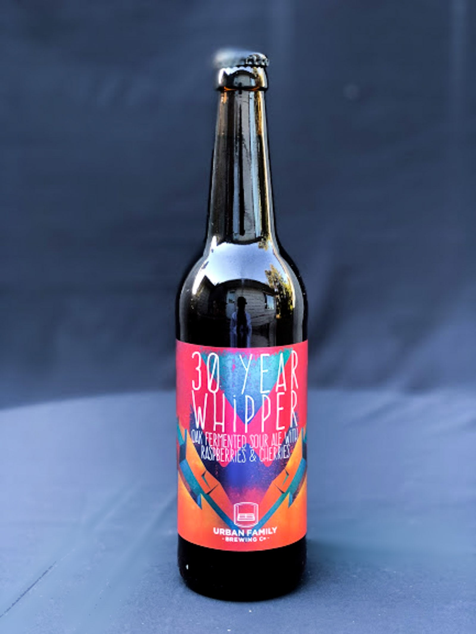 Urban Family Brewing 30 Year Whipper: Oak Fermented Sour Ale with Raspberries & Cherries