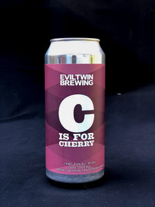 C is for Cherry- Gose - Evil Twin