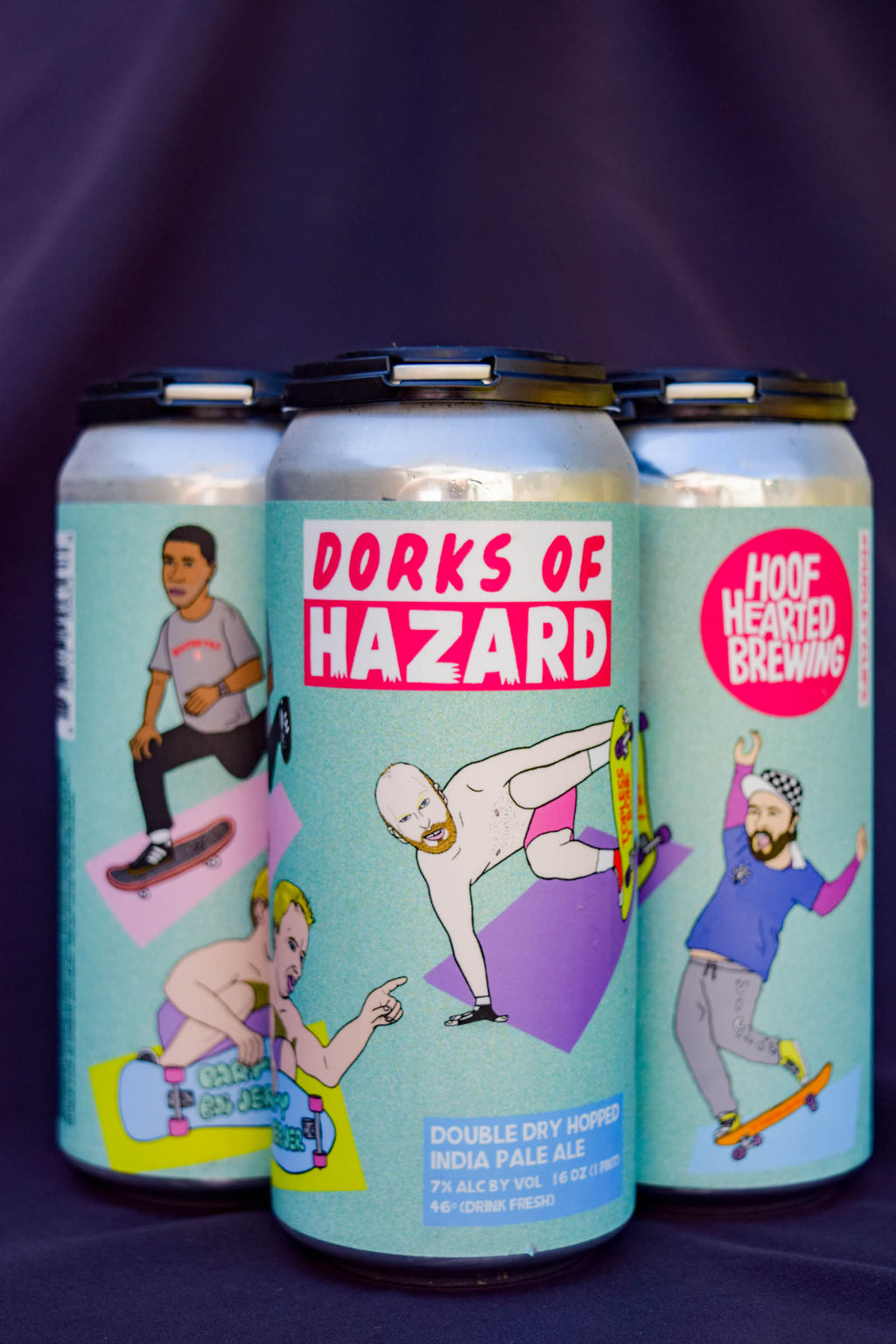 Buy Hoof Hearted Dorks of Hazard Double Dry Hopped IPA Online