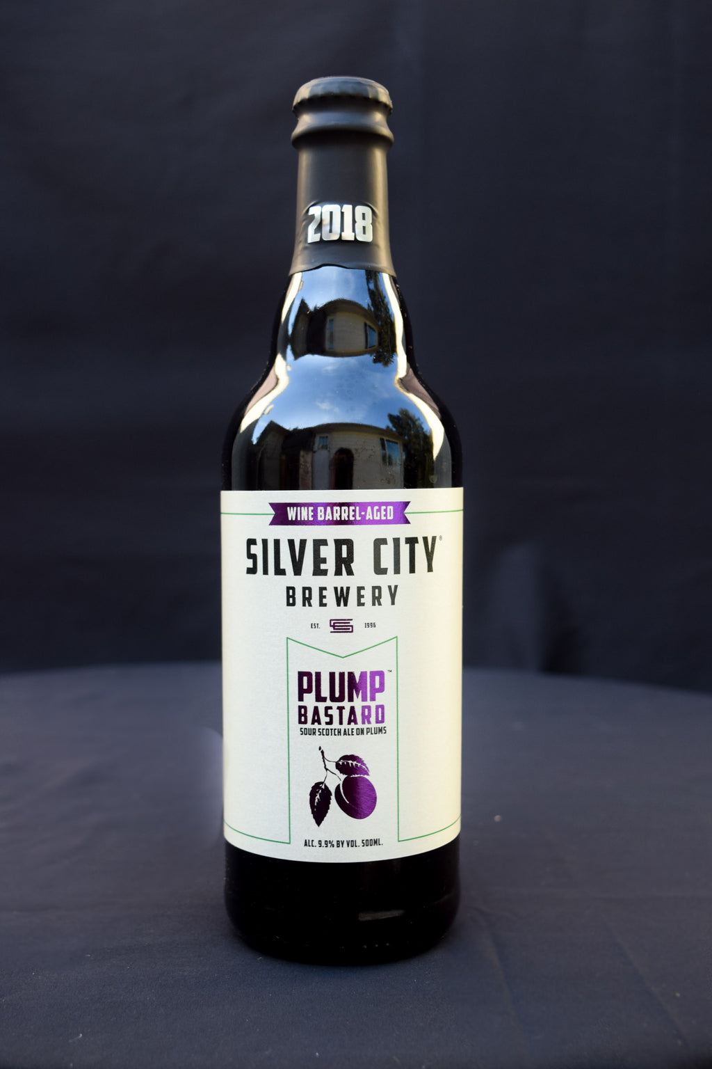 Buy Silver City Wine-Barrel Aged Plump Bastard Sour Scotch Ale on Plums Online