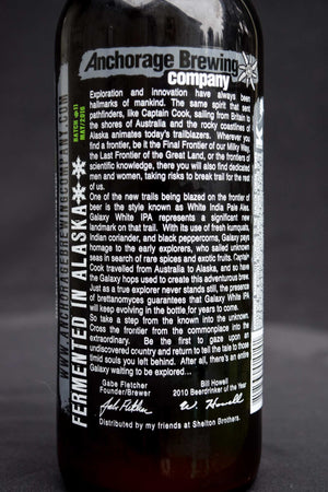 Anchorage Brewing Company Galaxy IPA
