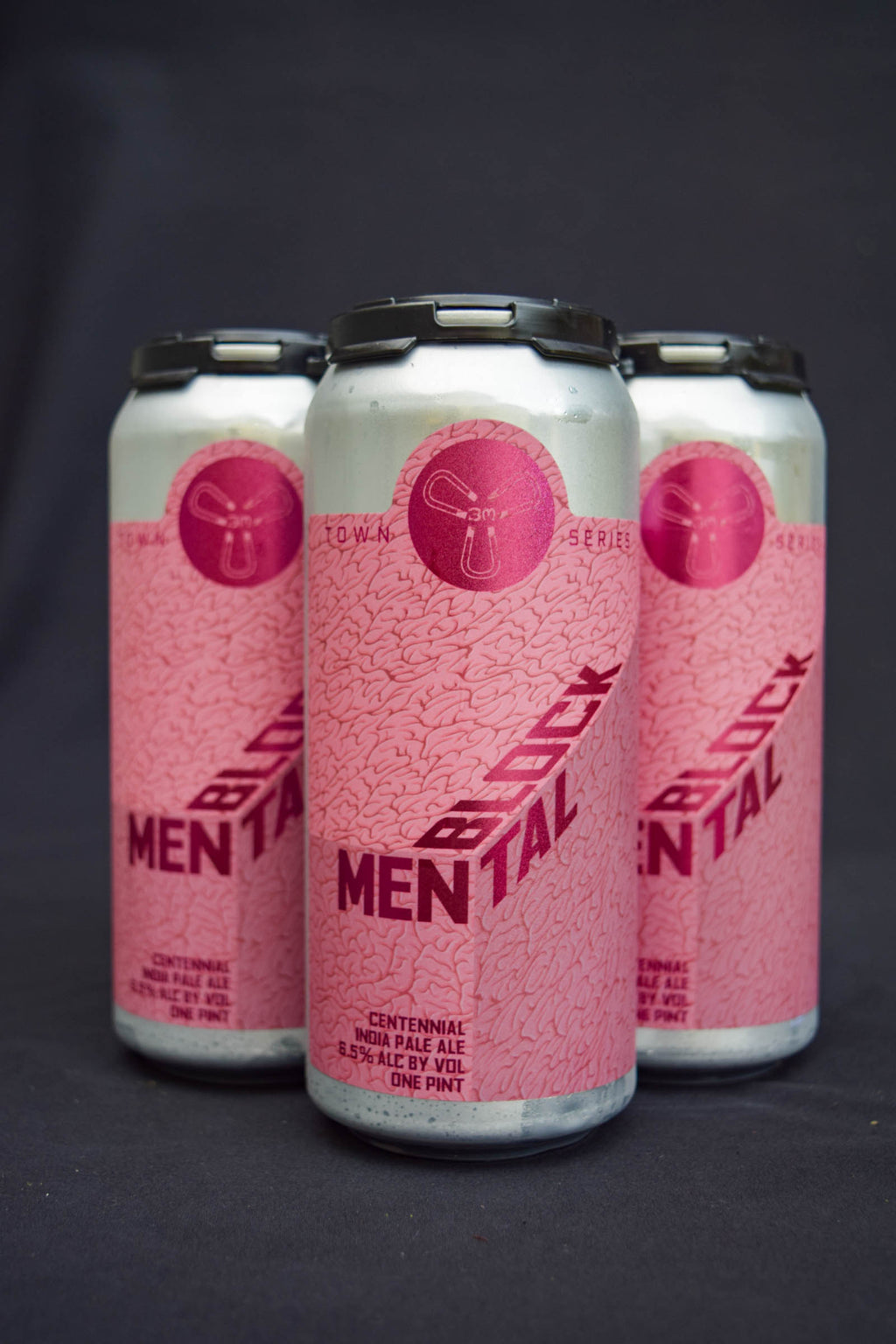 Buy 3 Magnets Brewing Mental Block Hazy IPA Online