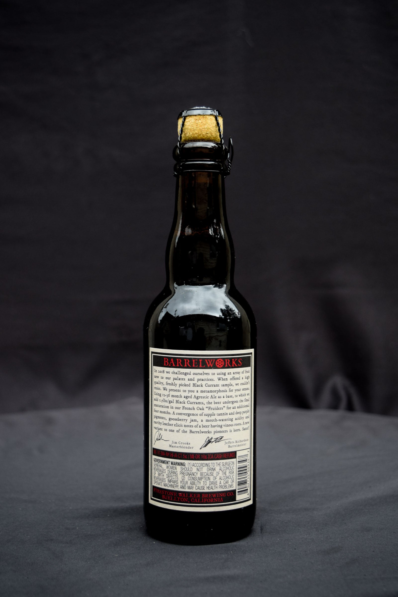 Firestone Walker UnderCurrants American Wild Ale 375ml Description
