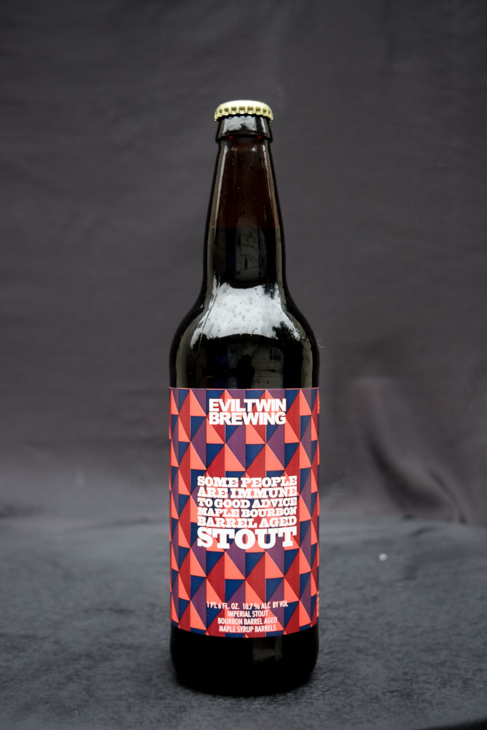 Evil Twin Some People Are Immune to Good Advice Bourbon Barrel Aged Stout