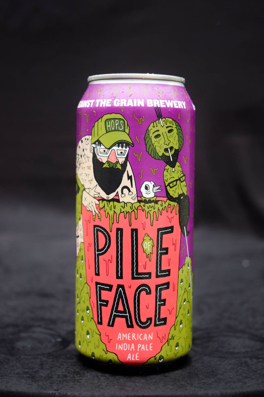 Against the Grain Pile of Face IPA