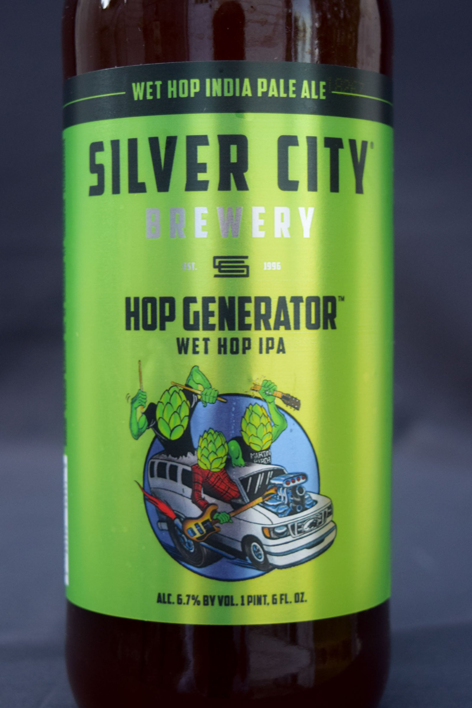 Buy Silver City Hop Generator Wet Hop IPA Online