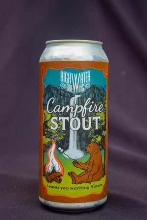 Highwater Brewing Campfire Stout