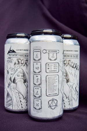 Loowit Brewing Player's Handbook the Sorcerer IPA