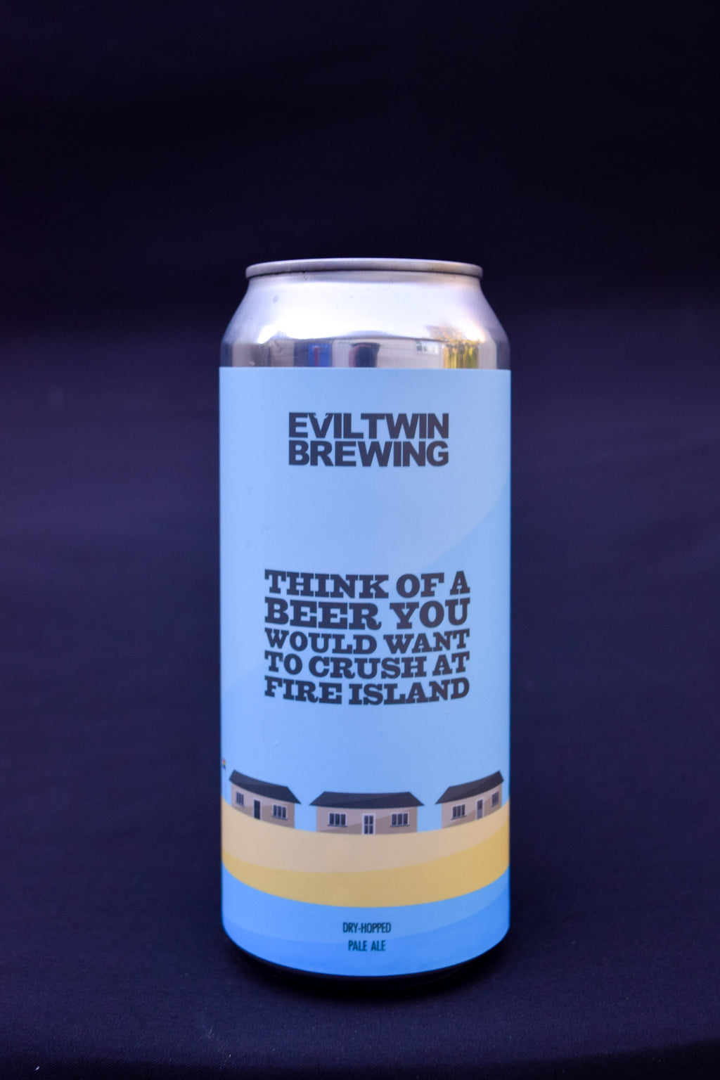 Evil Twin Think of a Beer You Would Want to Crush at Fire Island Pale Ale