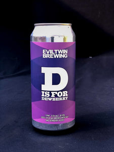 D is for Dewberry- Gose - Evil Twin