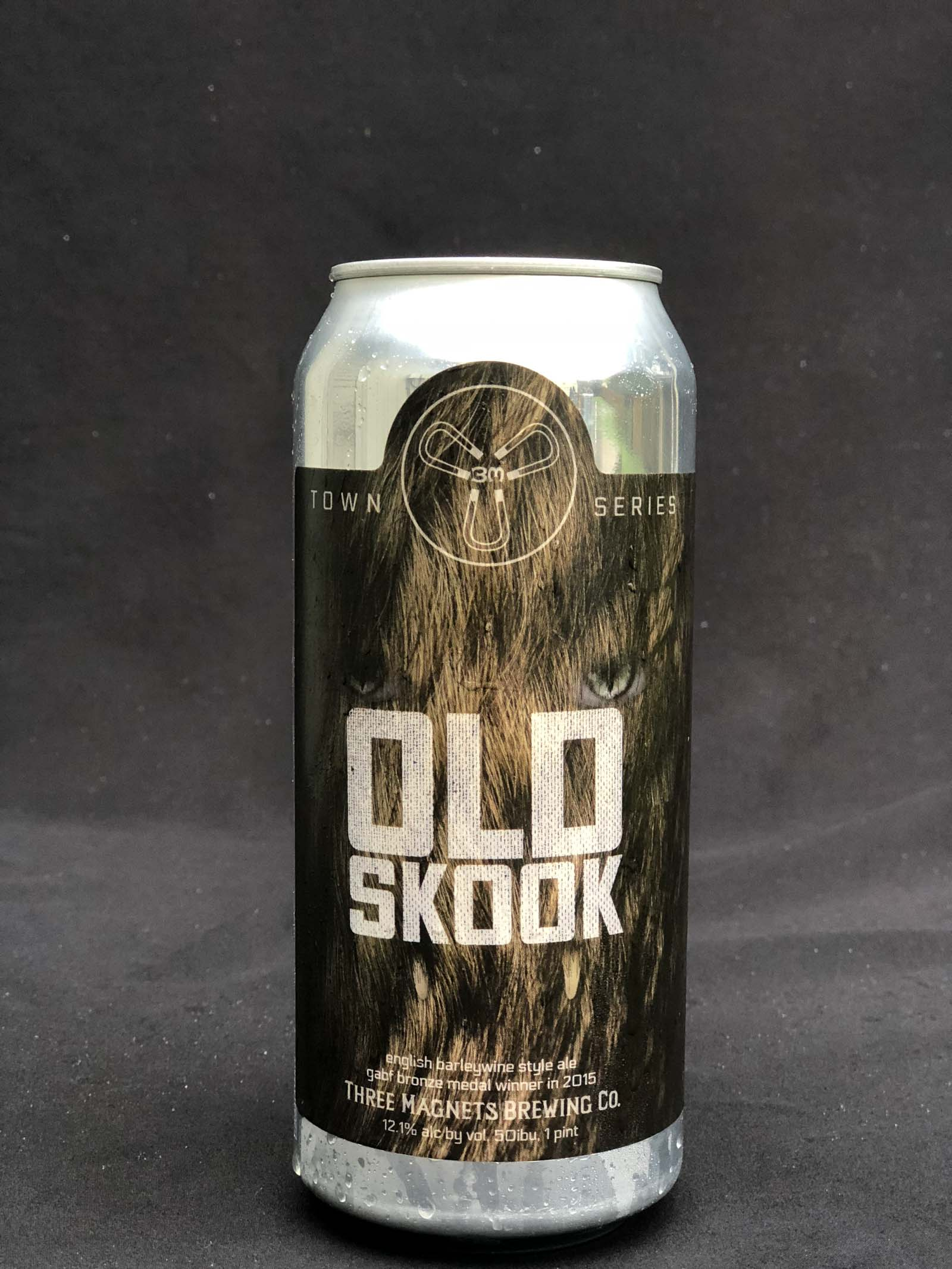3 Magnets Brewing Old Skook Barleywine