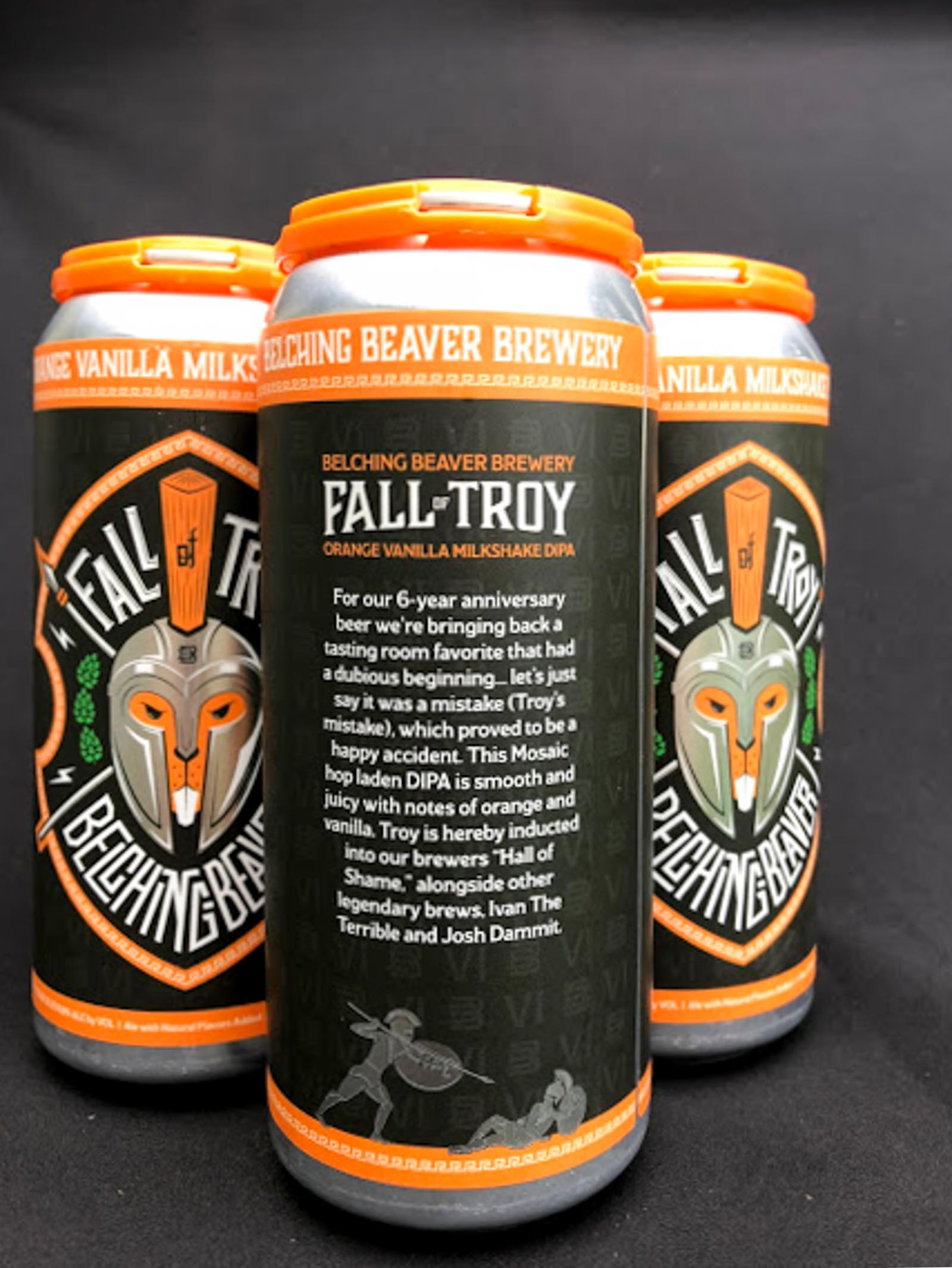 Belching Beaver Fall of Troy Orange Milkshake DIPA