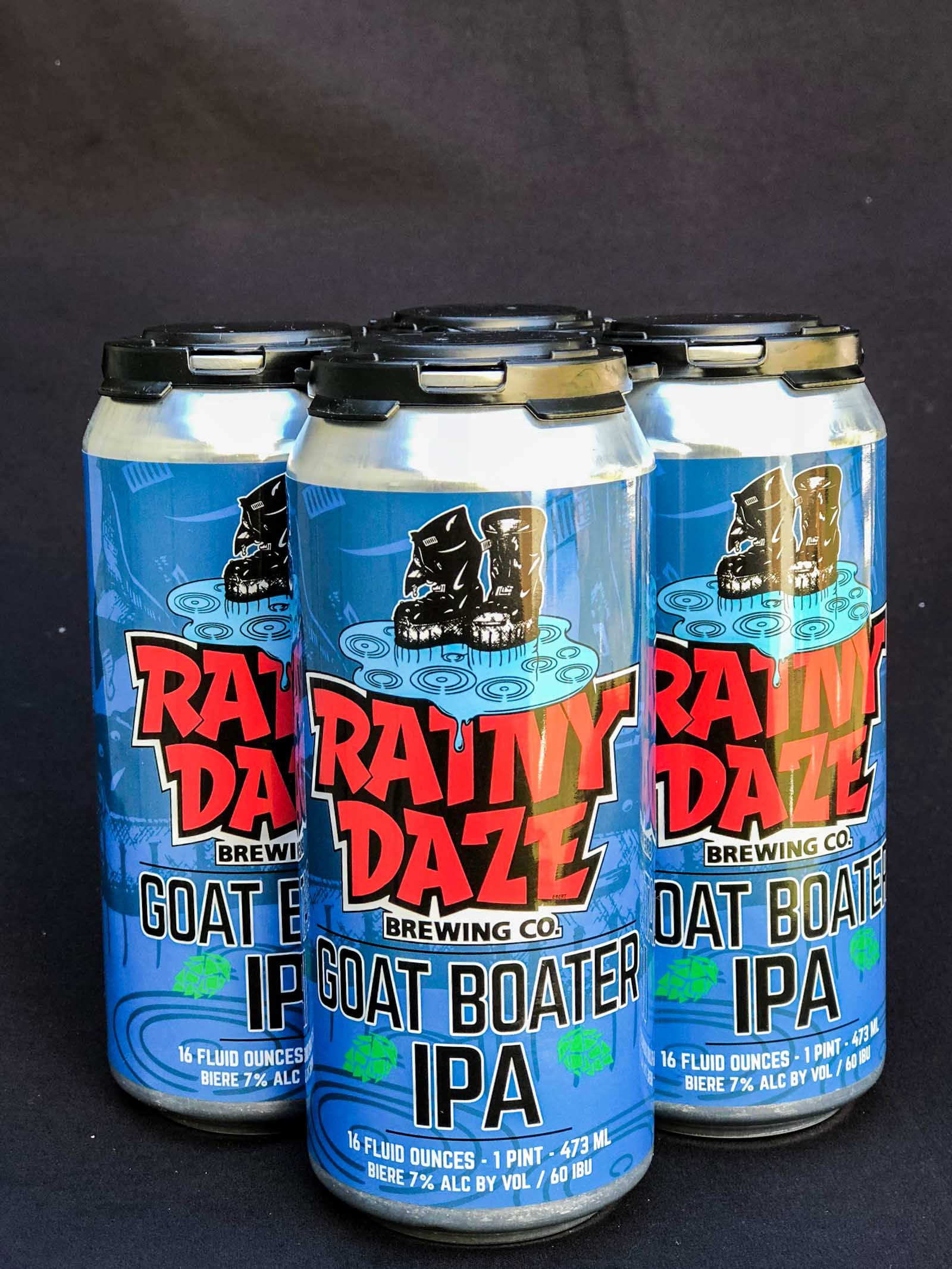 Rainy Daze Brewing Goat Boater IPA
