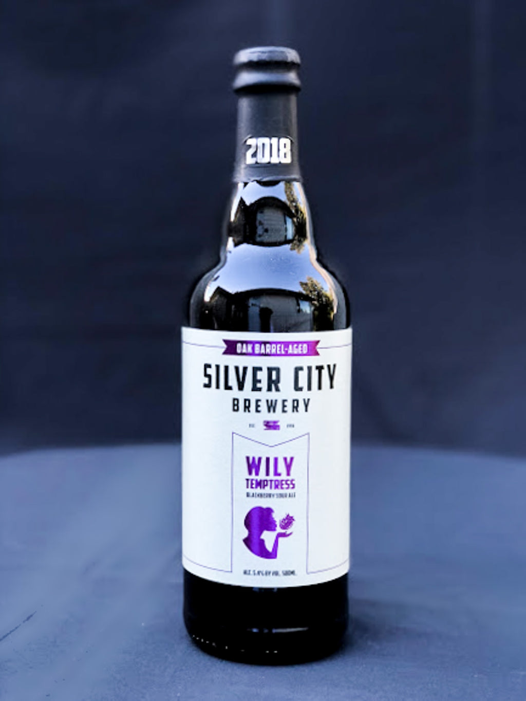 Silver City Wily Temptress Barrel-Aged Blackberry Sour Ale