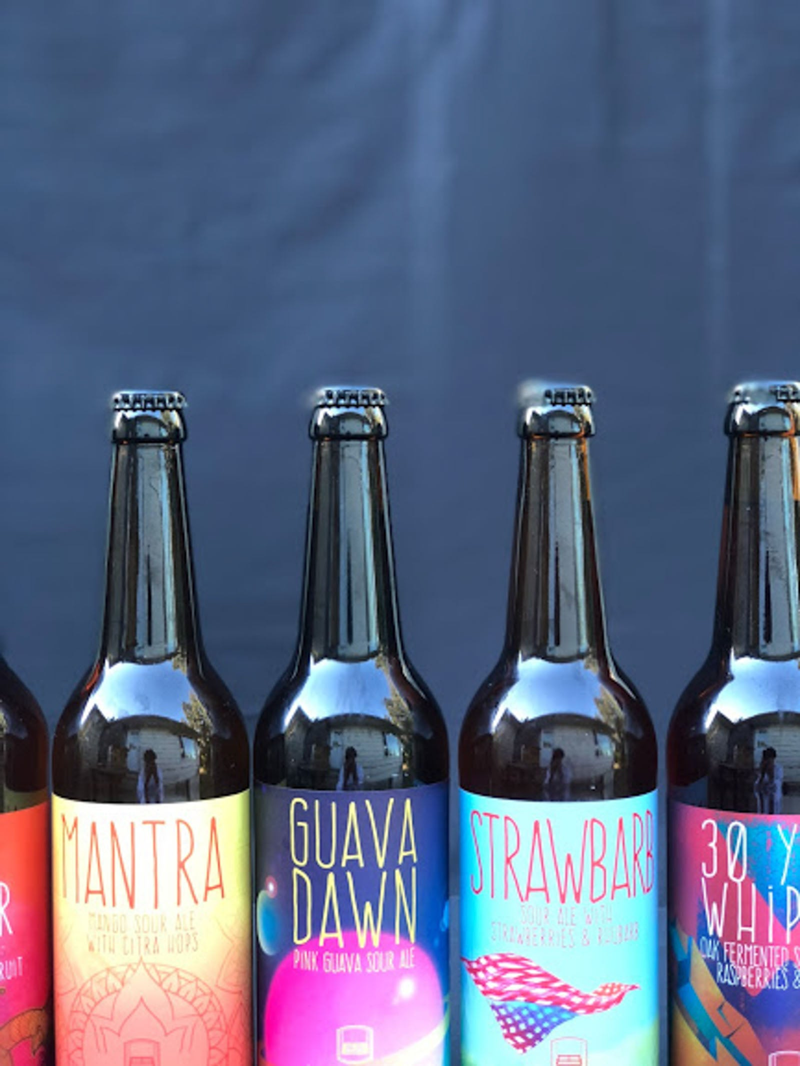 Urban Family Brewing Mantra Sour Ale with Citra Hops Imperial Sour