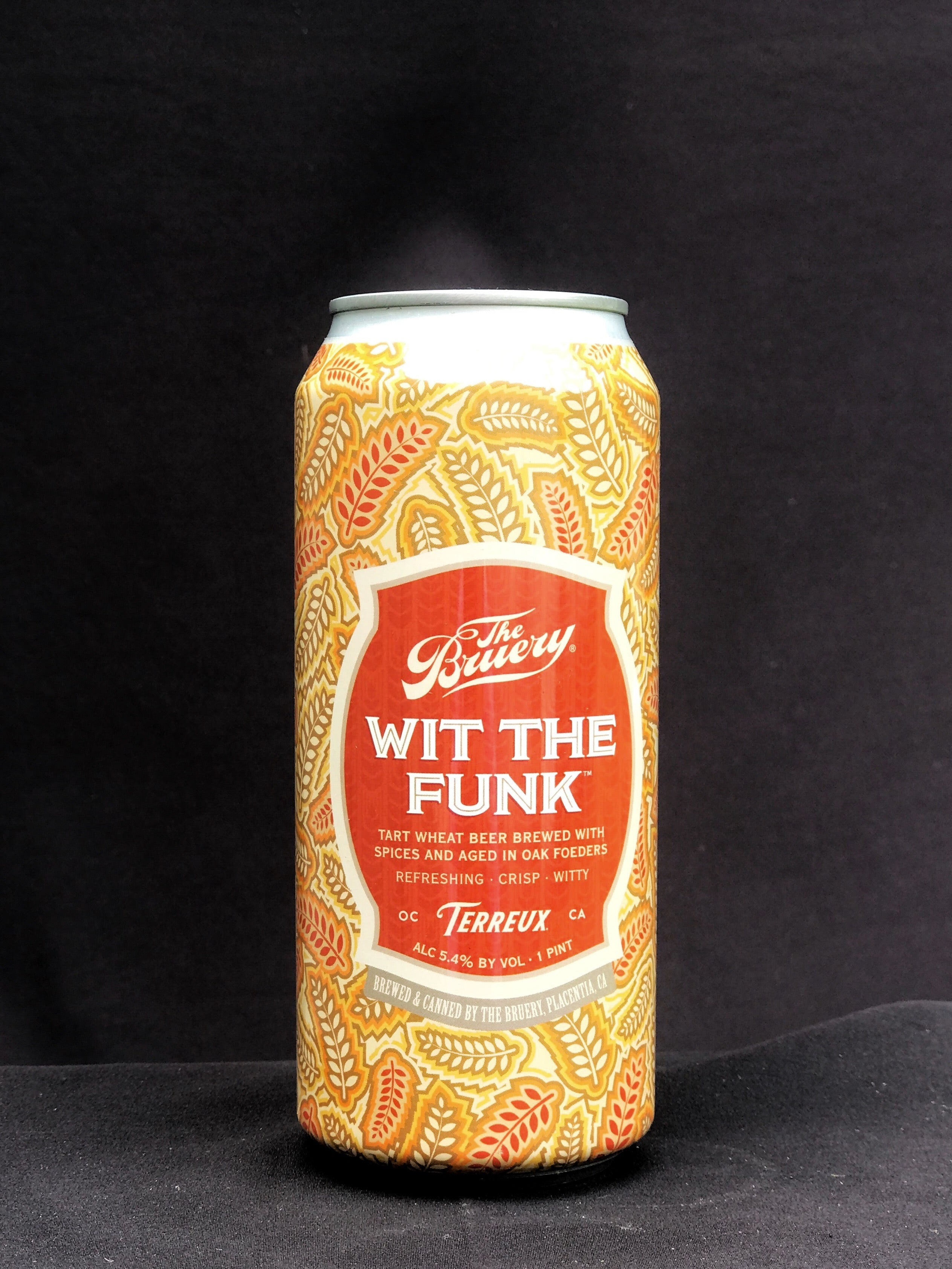 The Bruery Terreux Wit the Funk Wild Ale