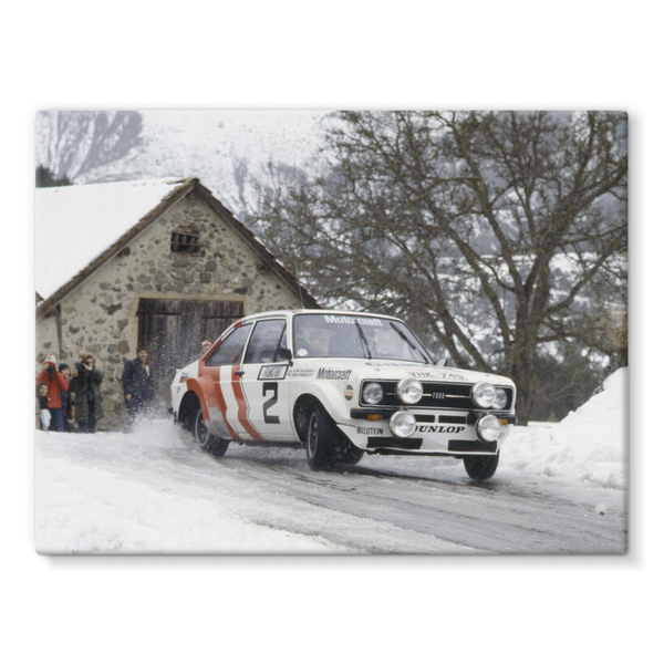 1979 World Rally Championship, Ford Escort RS. Bjorn Waldegaard in Monte-Carlo