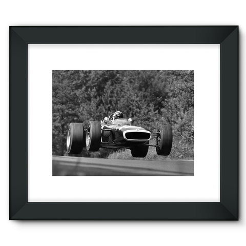 Nurburgring, Germany. 4th - 6th August 1967 - Framed Fine Art Print
