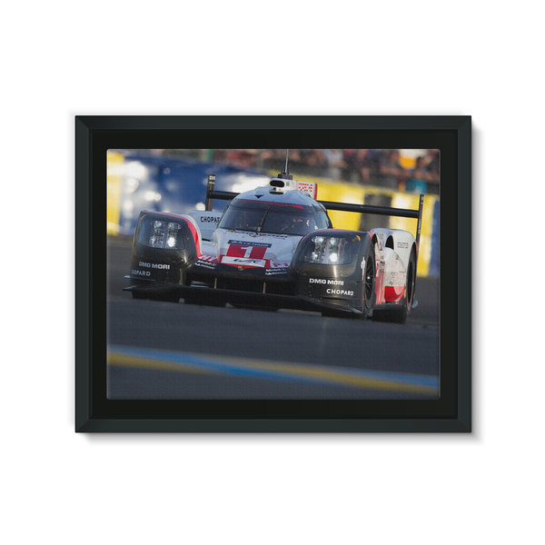Team Porsche 919 Hybrid - Framed Canvas