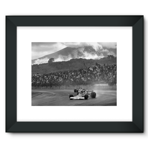 James Hunt McLaren M23 Ford - Framed Fine Art Print