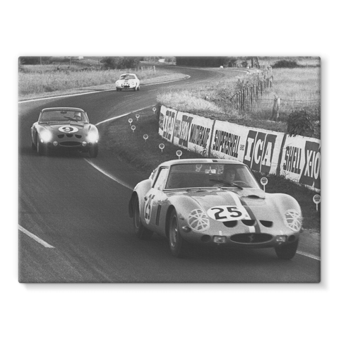 Le Mans, France. 15th - 16th June 1963 - Stretched Canvas