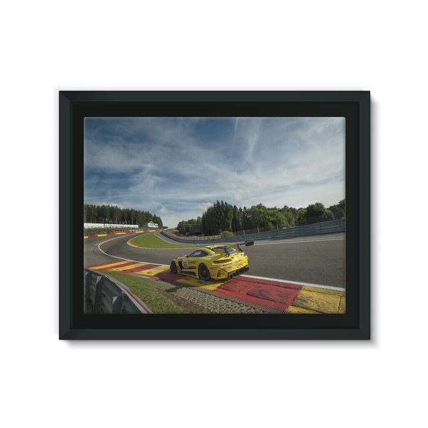 86 AMG-Team HTP Motorsport - Framed Canvas