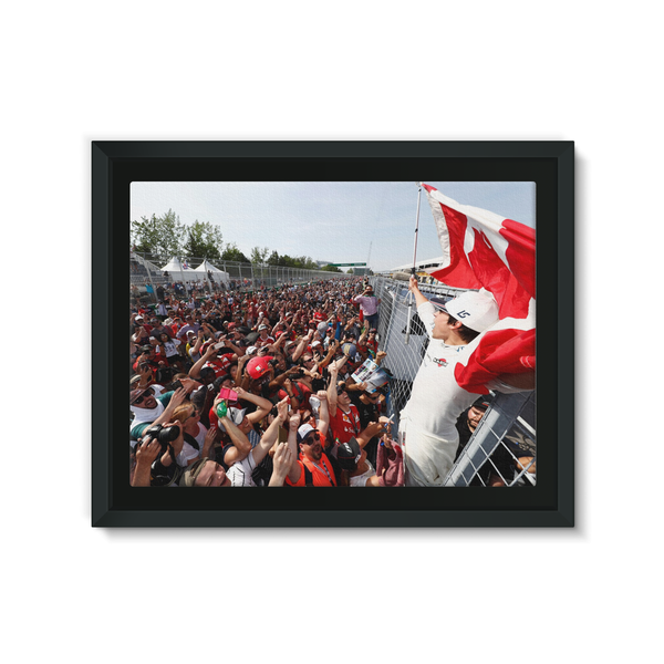 Lance Stroll, Williams - Framed Canvas