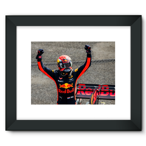 Winner Max Verstappen, Red Bull Racing, Mexican GP - Framed Fine Art Print