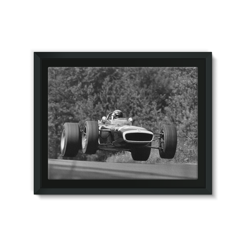 Nurburgring, Germany. 4th - 6th August 1967 - Framed Canvas
