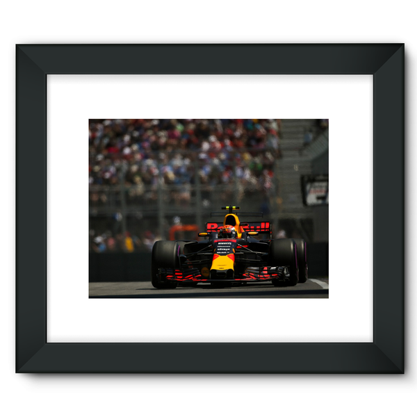 Max Verstappen, Red Bull Racing RB13 - Framed Fine Art Print