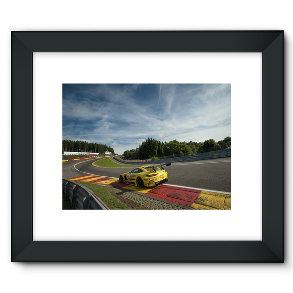 86 AMG-Team HTP Motorsport - Framed Fine Art Print