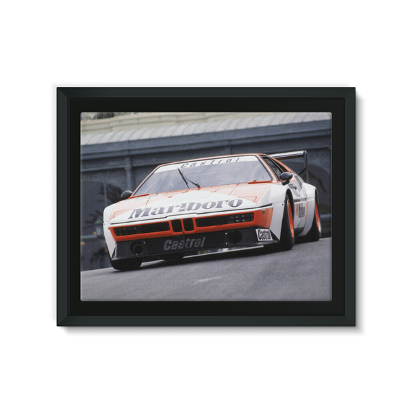 BMW M1, Jo Gartner - Framed Canvas