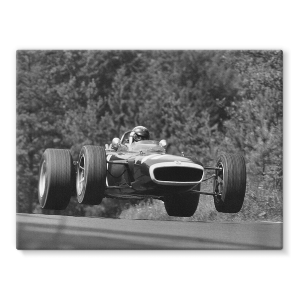 Nurburgring, Germany. 4th - 6th August 1967 - Stretched Canvas