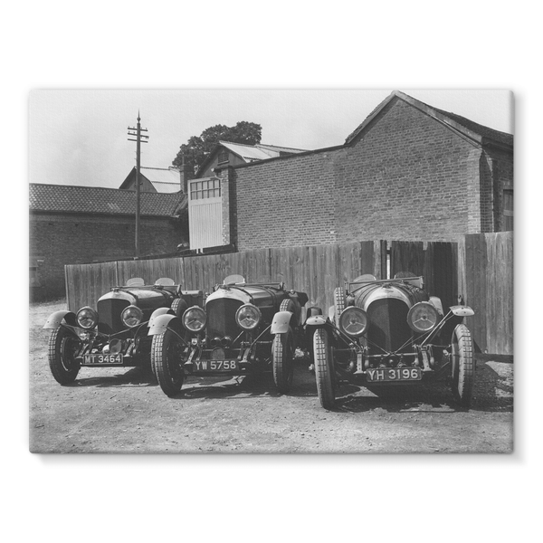 1929 Le Mans 24 hours. Bentley works team cars. Woolf Barnato, Henry Birkin, Jack Dunfee.