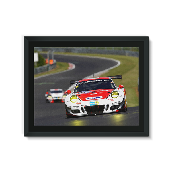 30 Frikadelli Racing Team, Porsche 991 GT3-R - Framed Canvas