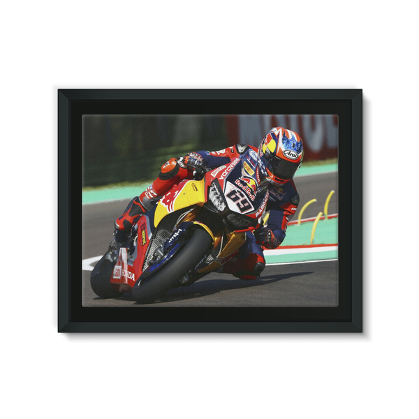 Nicky Hayden, Pata Honda World Superbike 2017 - Framed Canvas