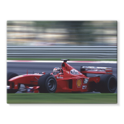 Michael Schumacher, Ferrari - Stretched Canvas