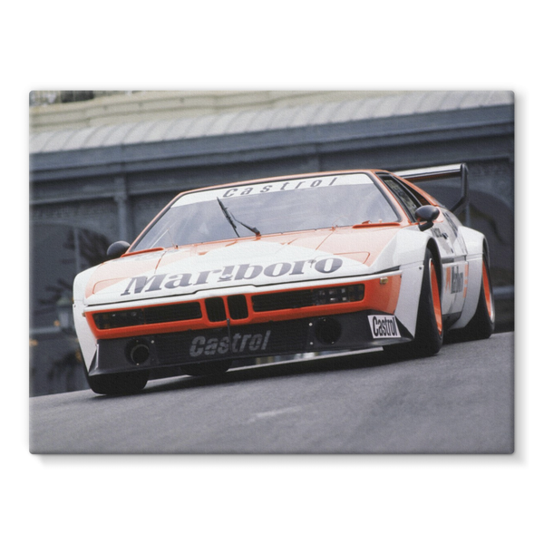 BMW M1, Jo Gartner - Stretched Canvas