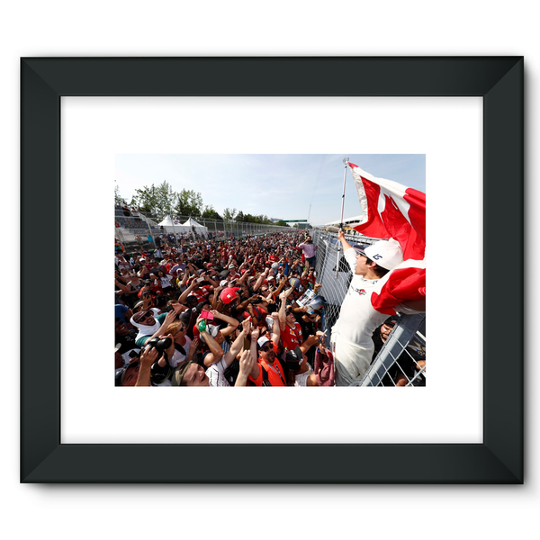Lance Stroll, Williams - Framed Fine Art Print