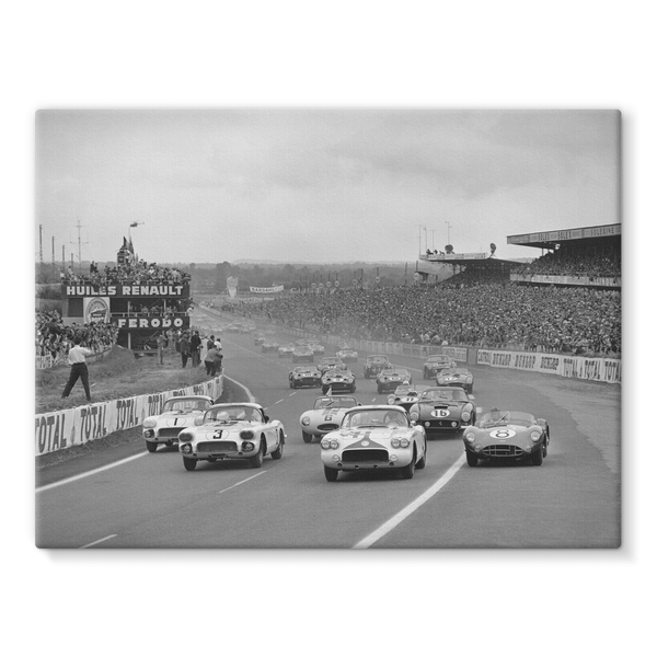 Le Mans, France. 25th - 26th June 1960. Scuderia Ferrari, Olivier Gendebien and Paul Frère.