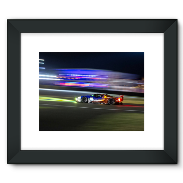 69 Ford Chip Ganassi Racing Ford GT - Framed Fine Art Print