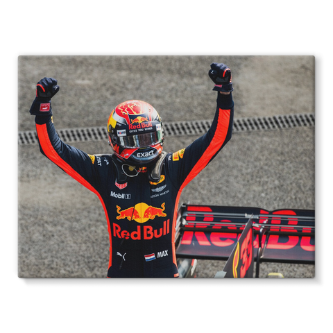 Winner Max Verstappen, Red Bull Racing, Mexican GP - Stretched Canvas