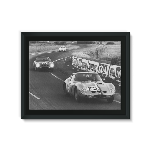 Le Mans, France. 15th - 16th June 1963 - Framed Canvas