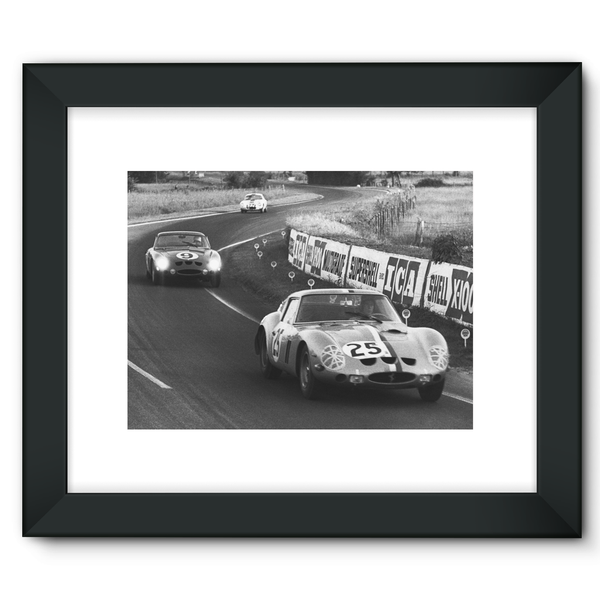 Le Mans, France. 15th - 16th June 1963 - Framed Fine Art Print