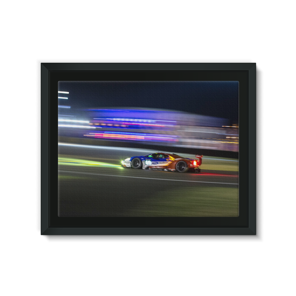 69 Ford Chip Ganassi Racing Ford GT - Framed Canvas