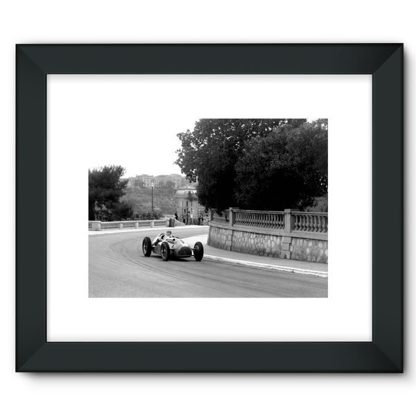 Monaco, Monte Carlo. 21st May 1950, Philippe Étancelin - Framed Fine Art Print