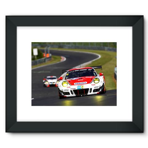 30 Frikadelli Racing Team, Porsche 991 GT3-R - Framed Fine Art Print