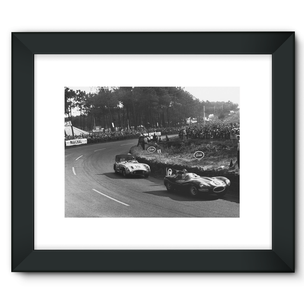Le Mans, France. 11 - 12 June 1955 - Framed Fine Art Print