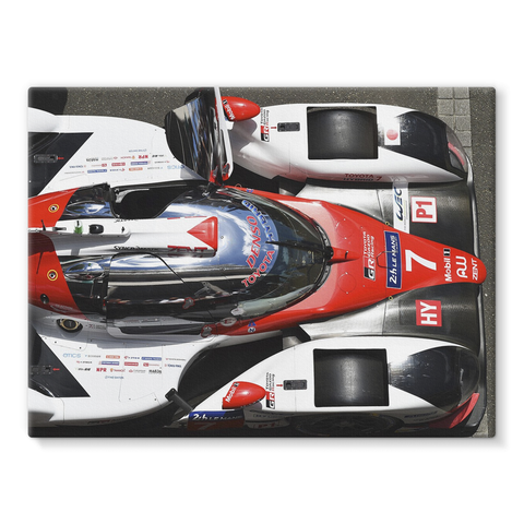 Toyota TS050 Hybrid - Le Mans 2017 - Stretched Canvas
