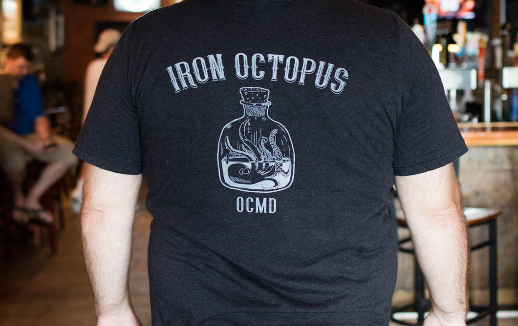 Mens Iron Octopus T